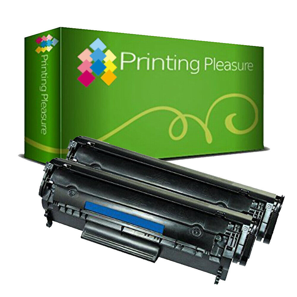 2 Toner Cartridge For Hp Laserjet Q2612a 12a 1010 1012 1015 1018 Compatible 1020 1022nonoem 1 Of 1free Shipping