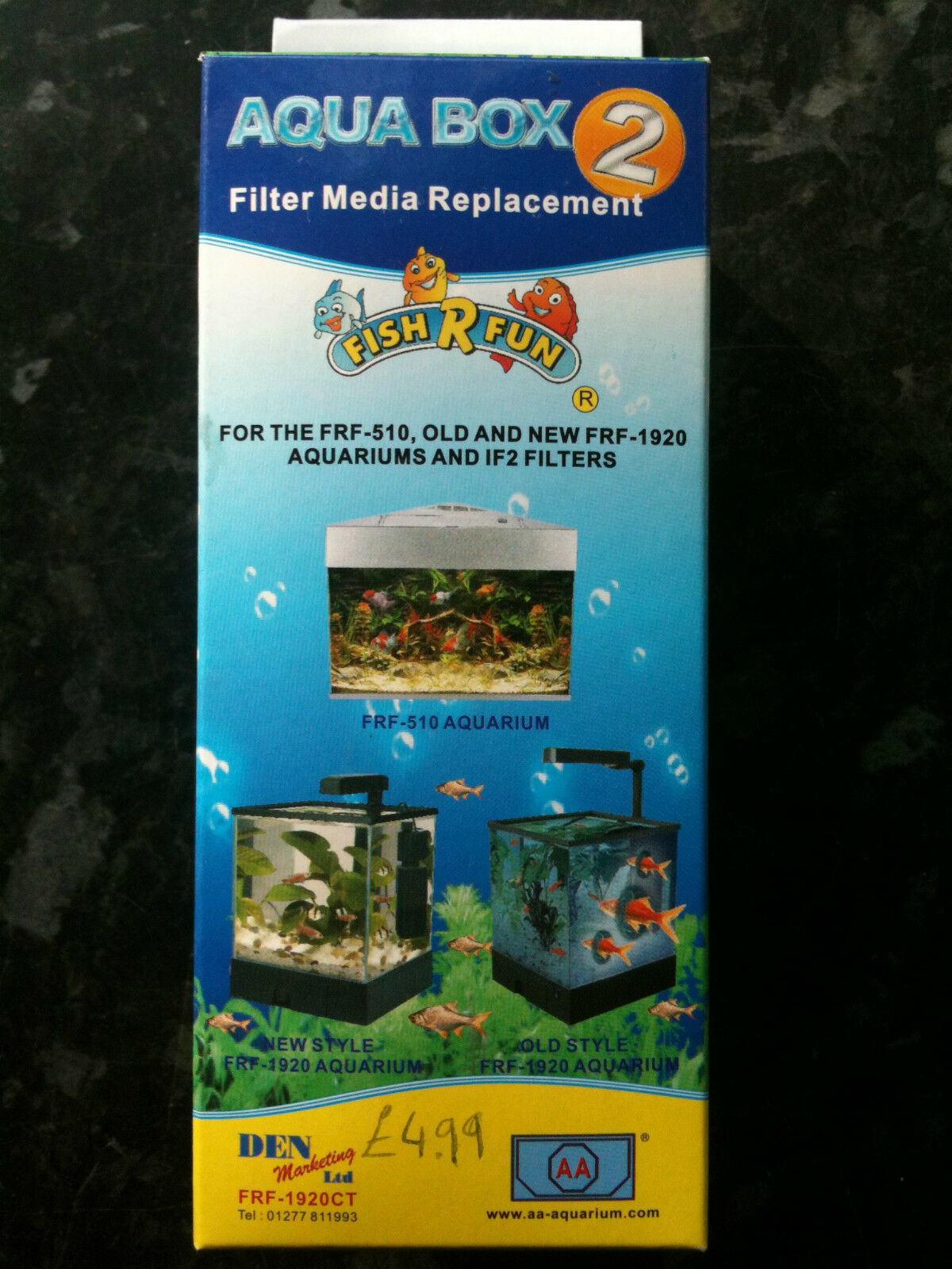 FRF-1920CT Spare Filter Media Aqua Box 2