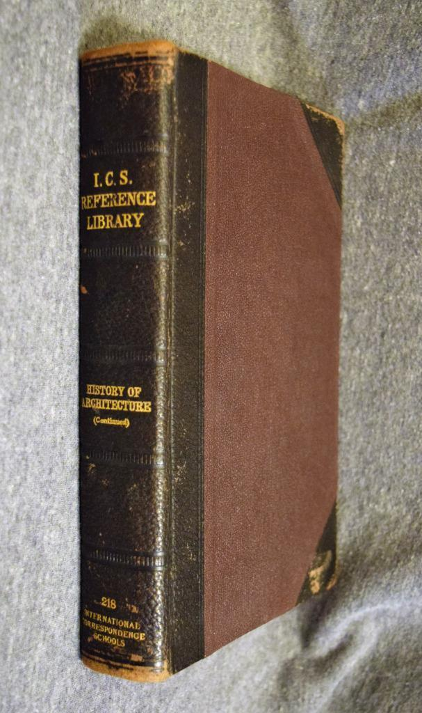 1909 I.C.S. Reference Library History of Architecture & Ornament Continued