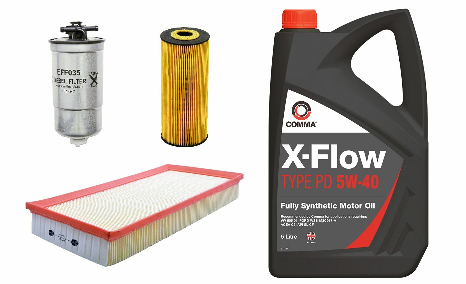 Oil Air Fuel Filter Service Kit Volkswagen Bora 19 Tdi Pd Diesel 01 Mercedes Benz On M2 1 Of 1free Shipping
