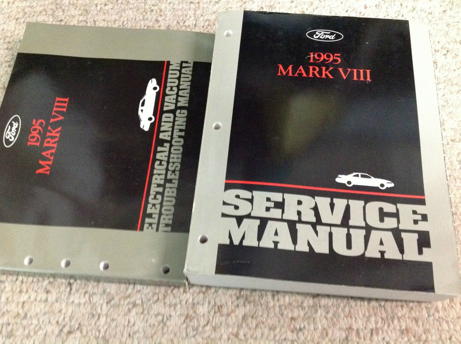 1995 Lincoln Mark Viii Service Repair Shop Workshop Manual Oem Set 1986 Town Car Electrical And Vacuum Troubleshooting 1 Of 6 See More