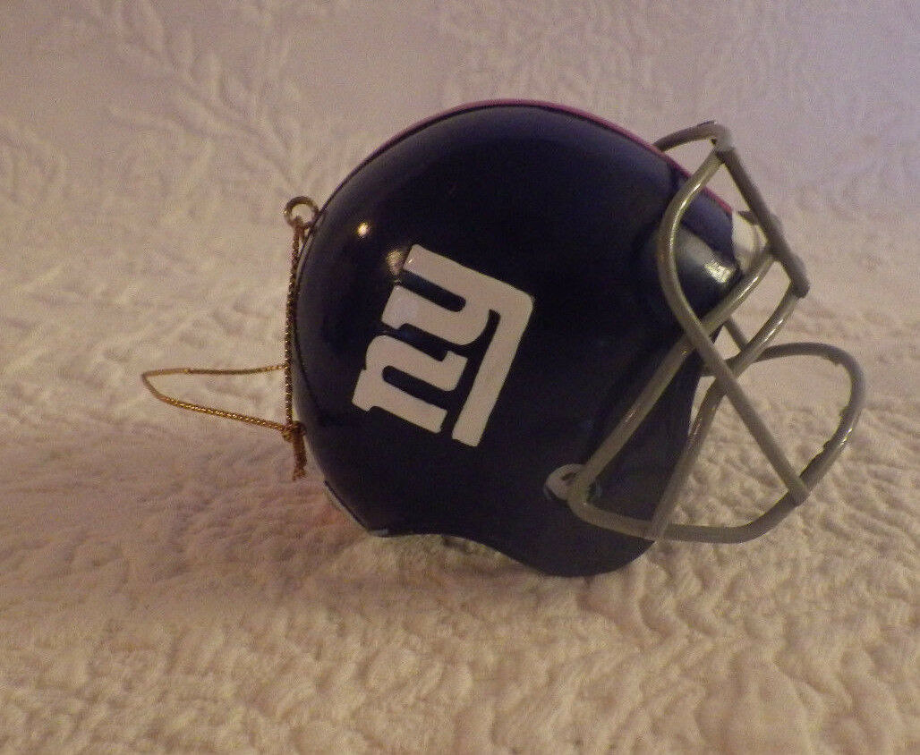 RIDDELL NEW YORK Giants Football NFL Christmas Ornament New - $14.25 ...