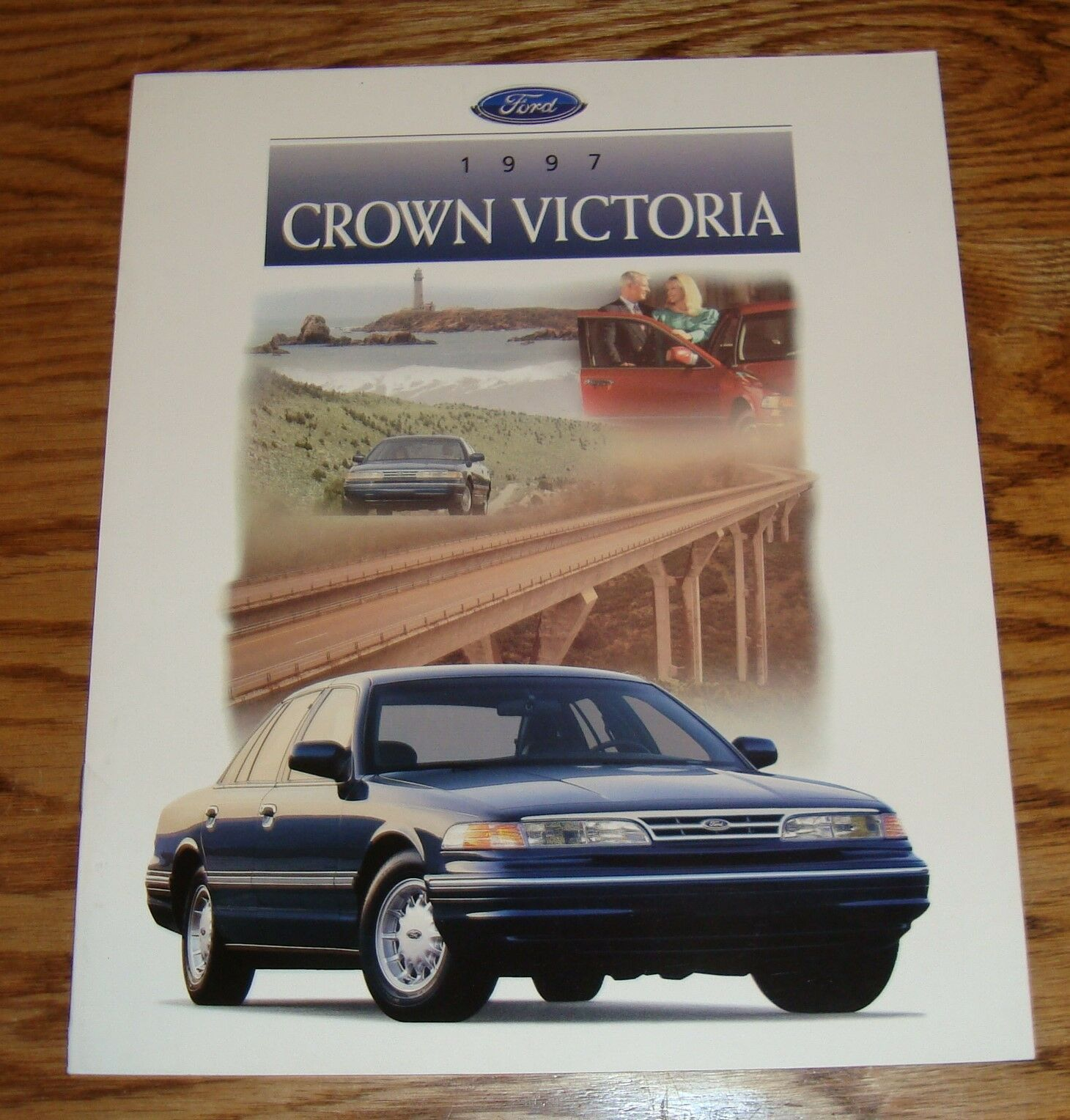 Original 1997 Ford Crown Victoria Sales Brochure 97 LX 1 of 2 See More