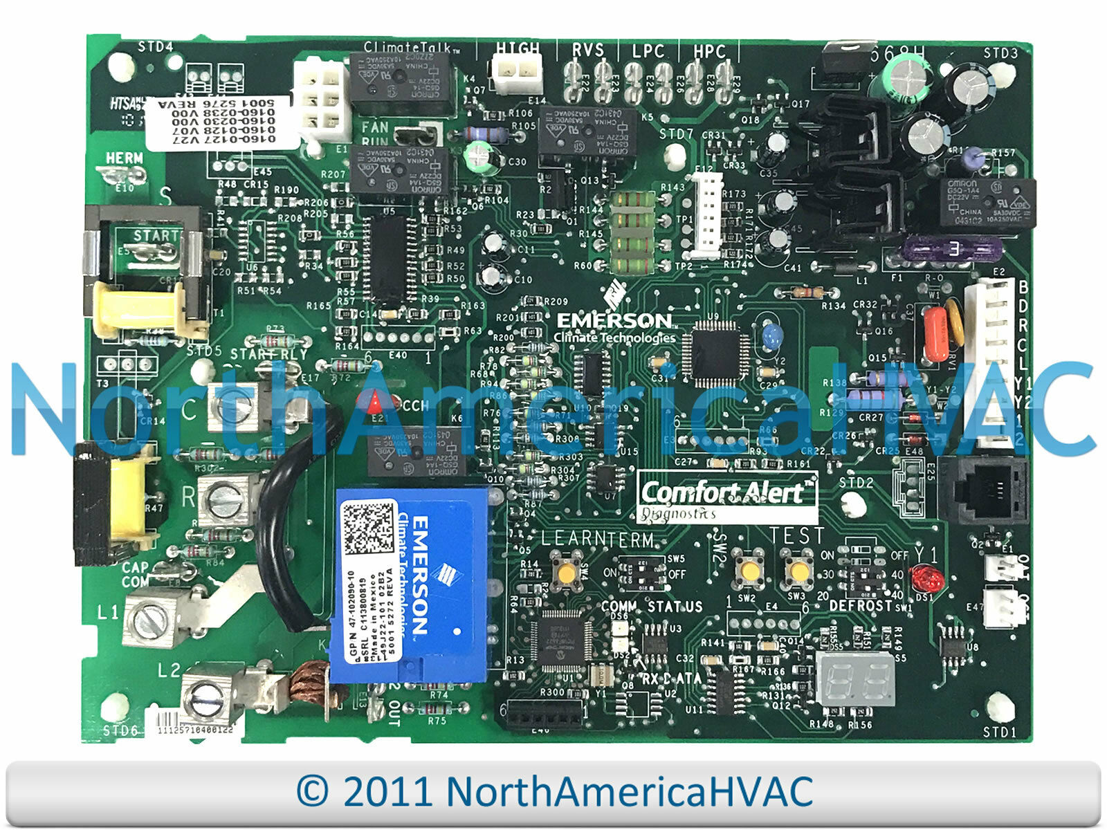 OEM RHEEM RUUD Weather King Furnace Control Circuit Board 47-102090 ...