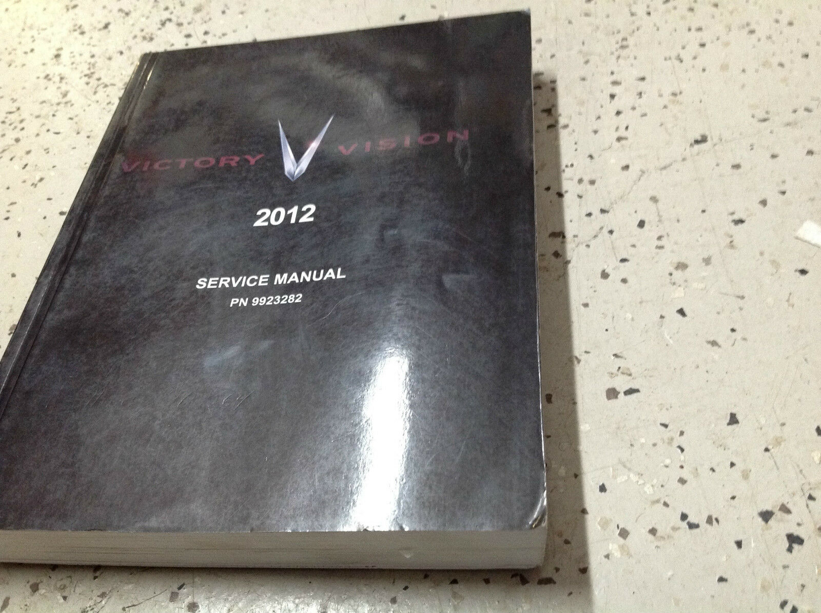 1 of 8Only 2 available 2012 POLARIS Victory VISION Service Shop Repair  Workshop Manual OEM Factory