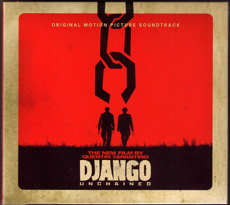 DJANGO UNCHAINED SOUNDTRACK OST Ennio Morricone James Russo CD ...