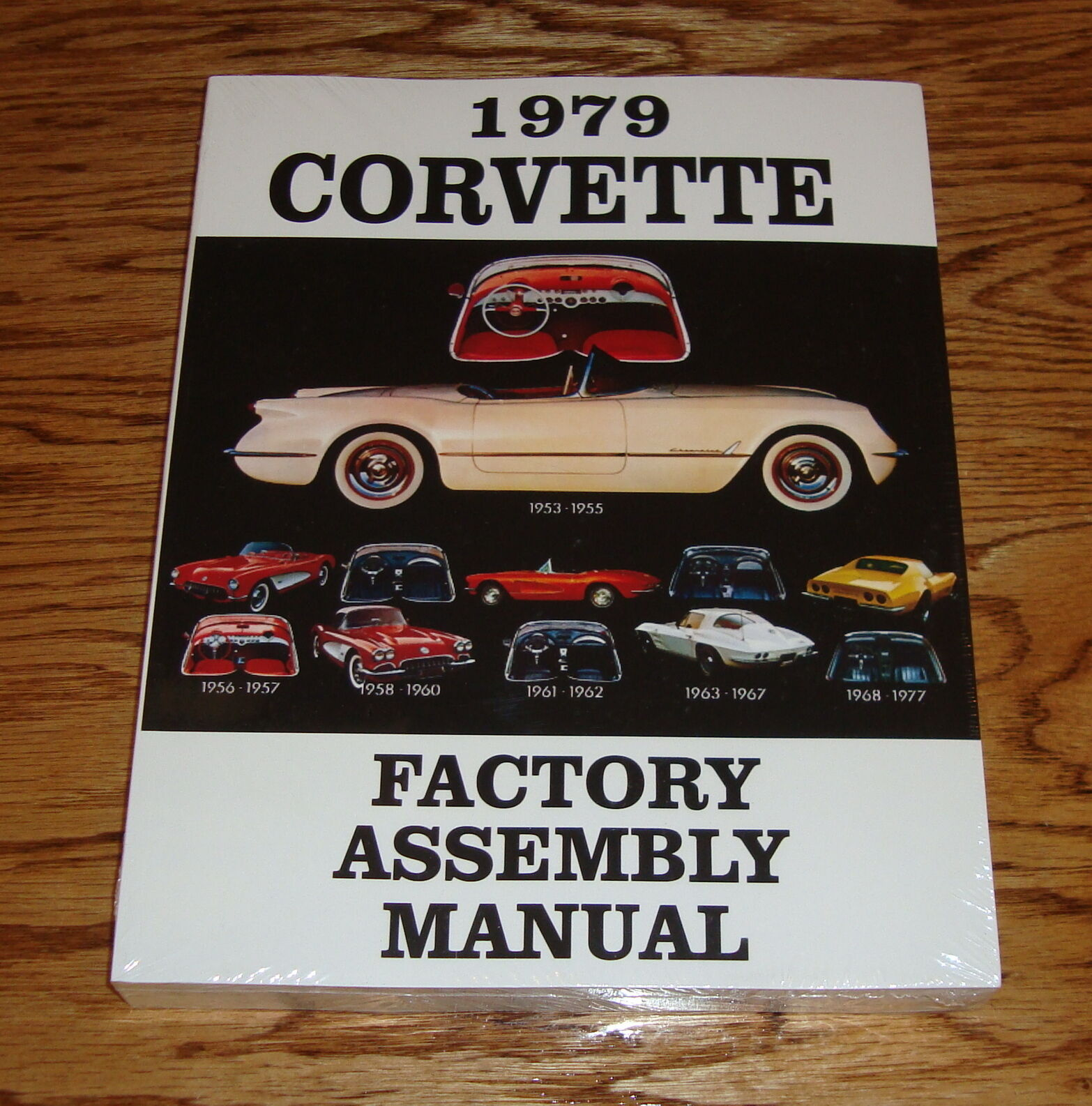 1979 Chevrolet Corvette Factory Assembly Manual 79 Chevy 1 of 1Only 1  available ...