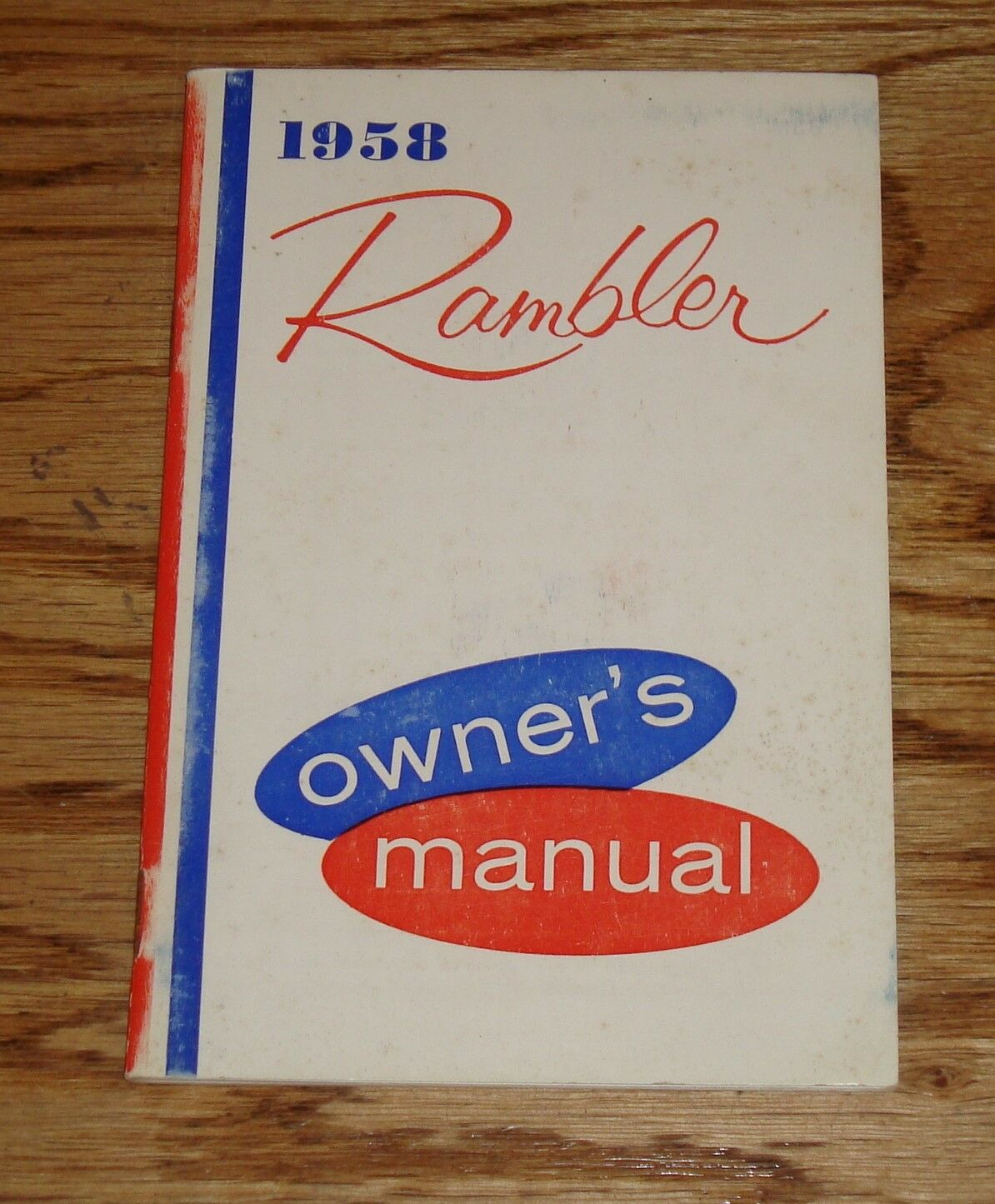 Original 1958 Amc Rambler Owners Operators Manual 58 1800 Picclick Eagle Wiring Diagram 1 Of 1only Available