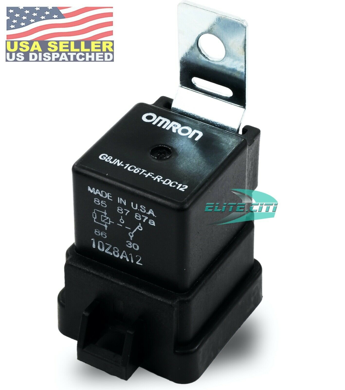 Omron Relay G8jn 1c6t F R Dc12 12vdc 30 Amp Made In Usa 1099 Current 1 Of 4only 4 Available