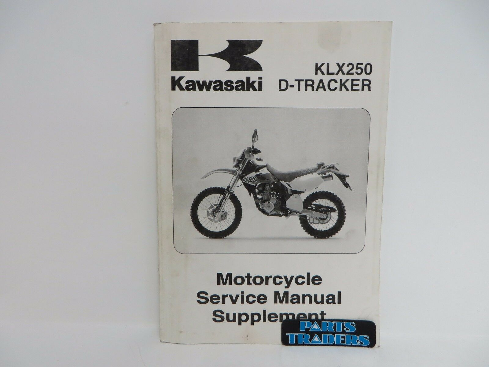 genuine kawasaki service manual supplement klx250 klx 250 d tracker rh  picclick co uk klr 250 repair manual klr 250 service manual pdf