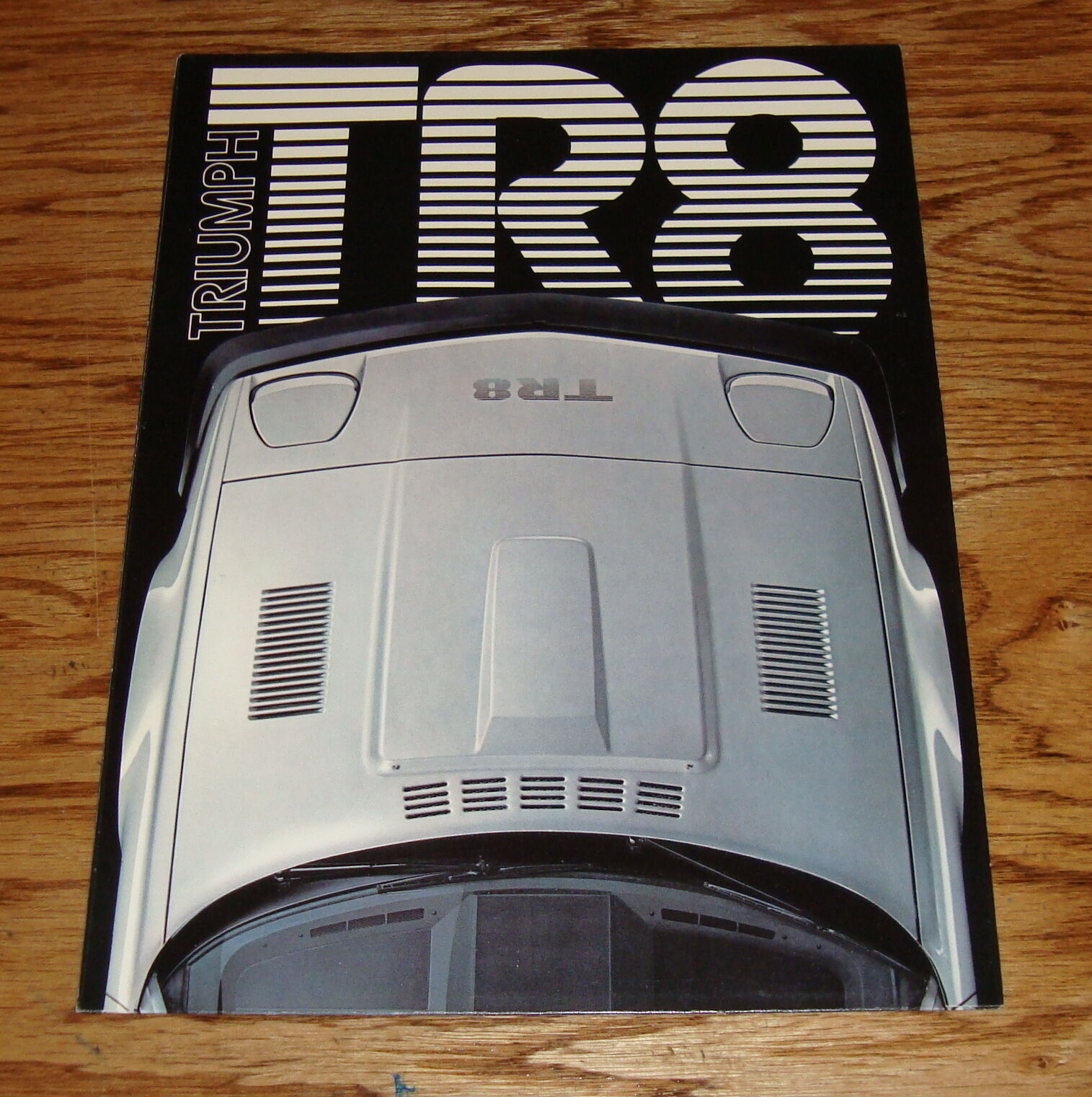 Original 1979 Triumph Tr8 Foldout Sales Brochure 79 1350 Picclick Wiring Diagram 1 Of 2only 2 Available