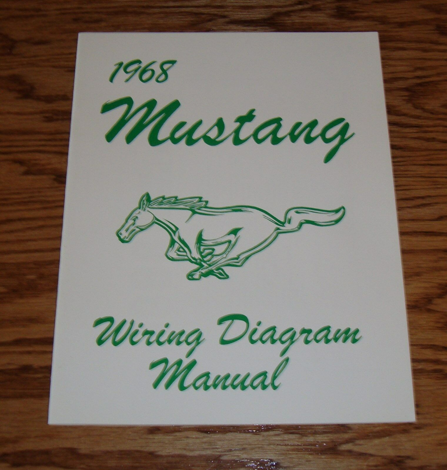 1967 Ford Mustang Shelby Wiring Diagram Manual Schematics 1975 Ii 1968 Brochure 68 9 00 Picclick 66 Engine