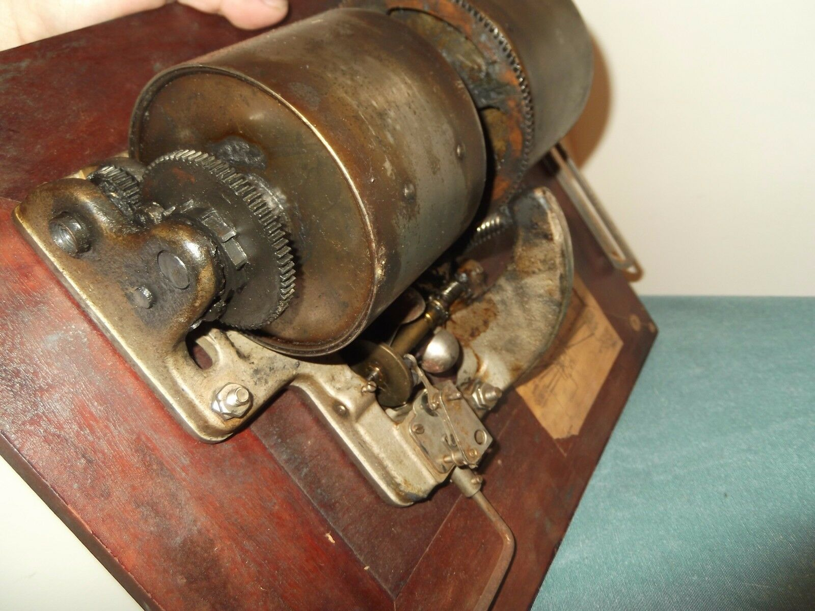 Antique Victor Victrola Talking Machine Co Vv Xiv