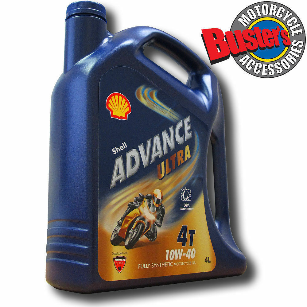 8 Litres Shell Advance Ultra 10w 40 Fully Synthetic Motorcycle Castrol Motorbike Engine Oil Power1 Scooter 4t 08 Liter 8l 1 Of 1free Shipping