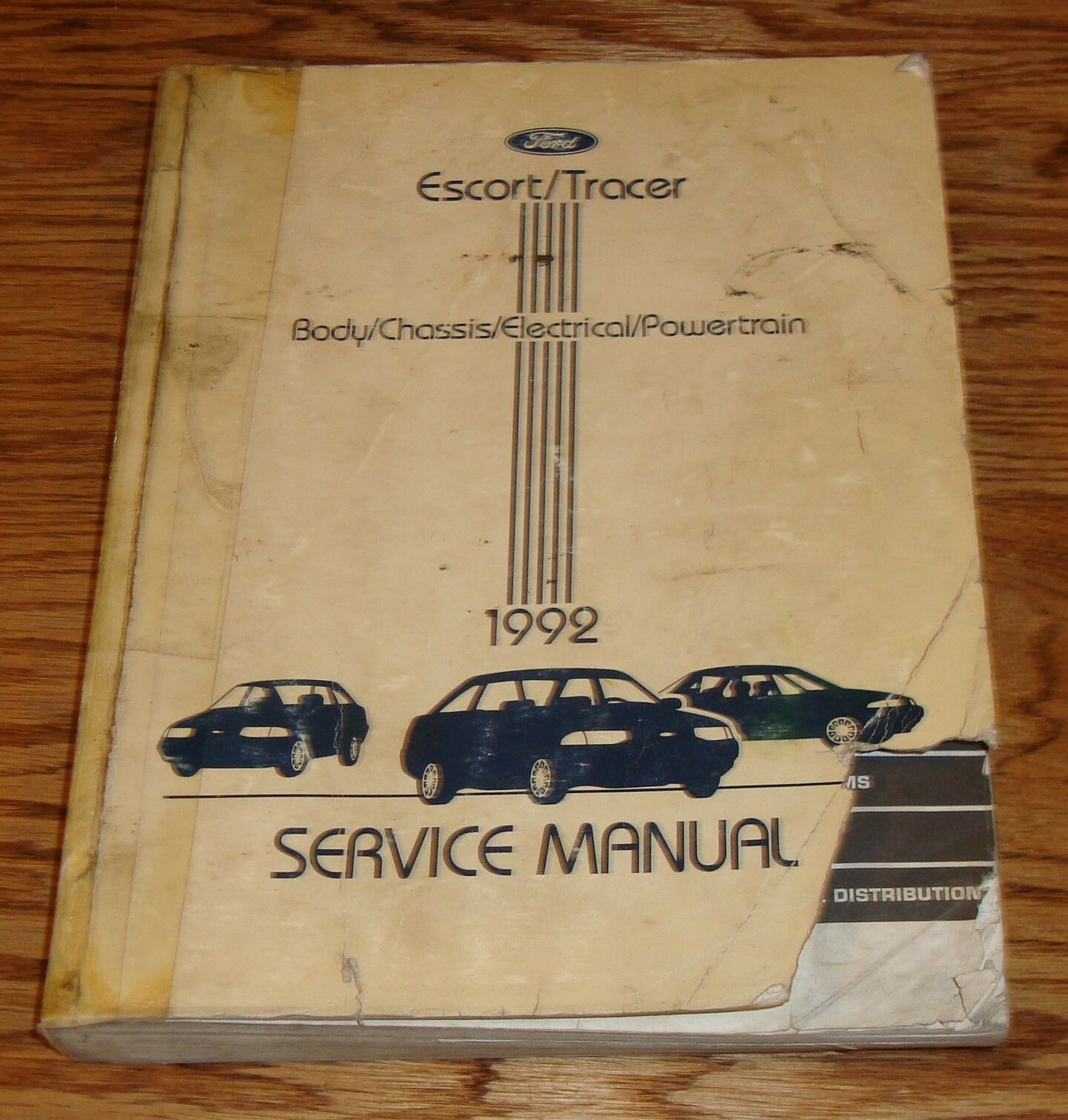 1991 Mercury Tracer Diagram Wiring Schematic Simple Guide About 1946 Willys 1992 Ford Escort Shop Service Manual 92 6 14 Rh Picclick Co Uk