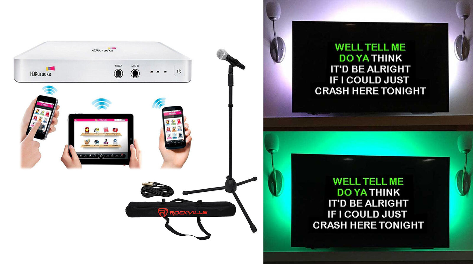 wifi karaoke machine
