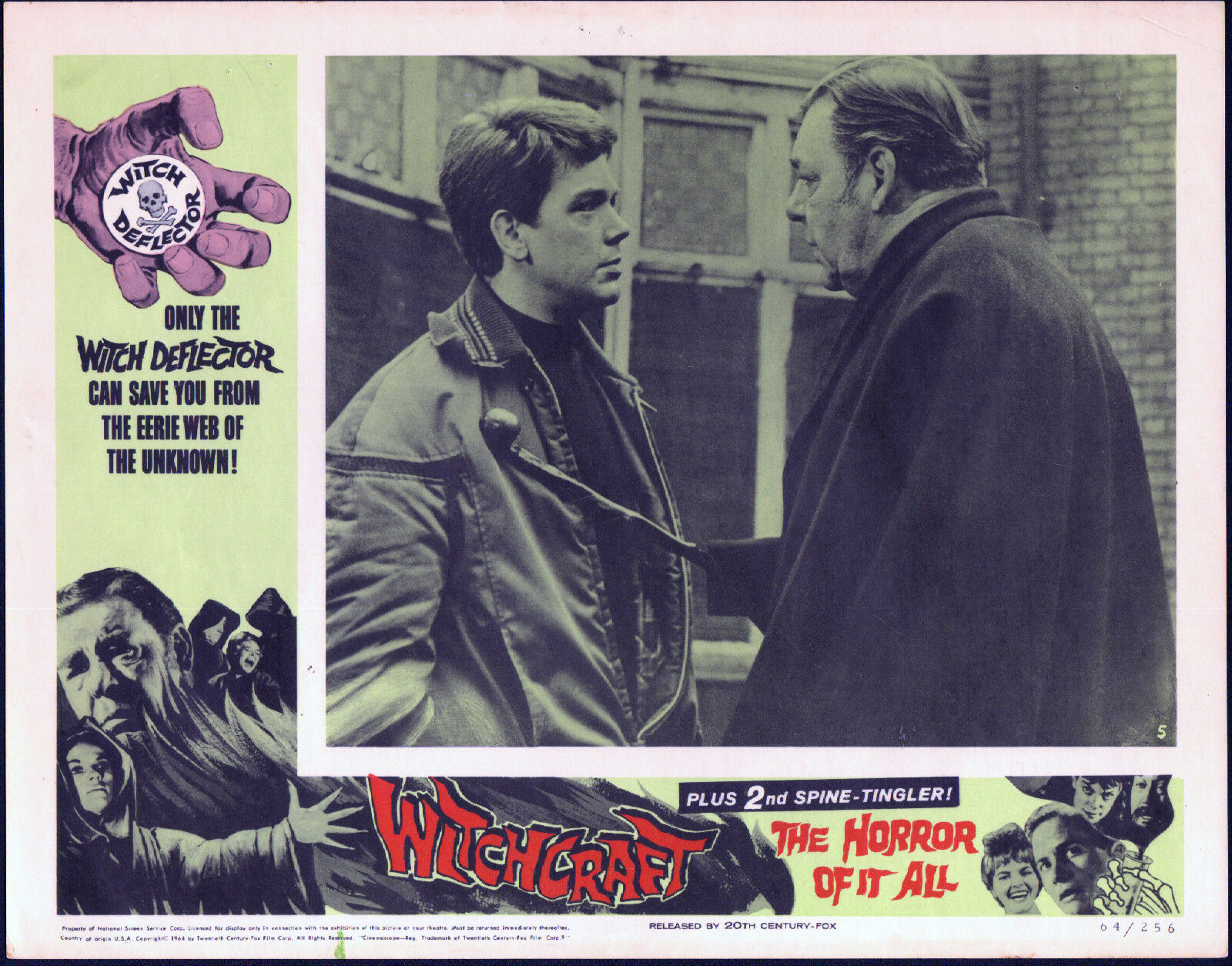 WITCHCRAFT-original-1964-lobby-card-LON-