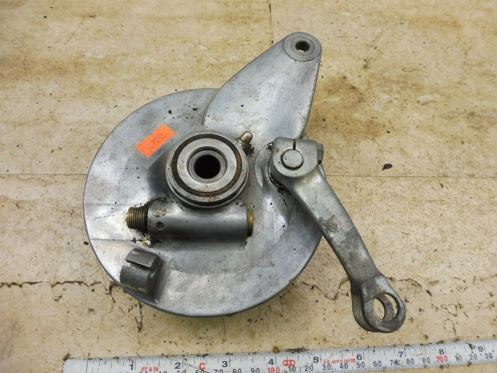 1967 Honda Ct90 Trail 90 K1 H1532 Front Brake Hub Shoe 3817 Fuel Filter 1 Of 9only Available