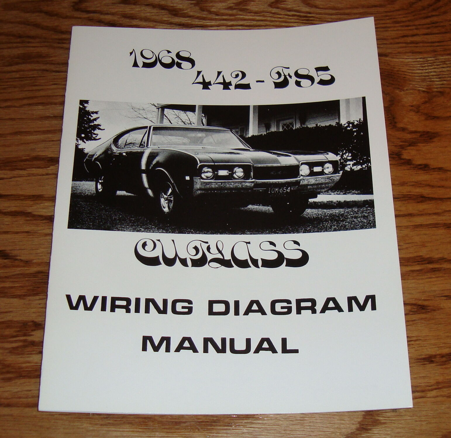 1968 Oldsmobile Cutlass 442 F85 Wiring Diagram Manual 68 900 1959 1 Of 1only 3 Available