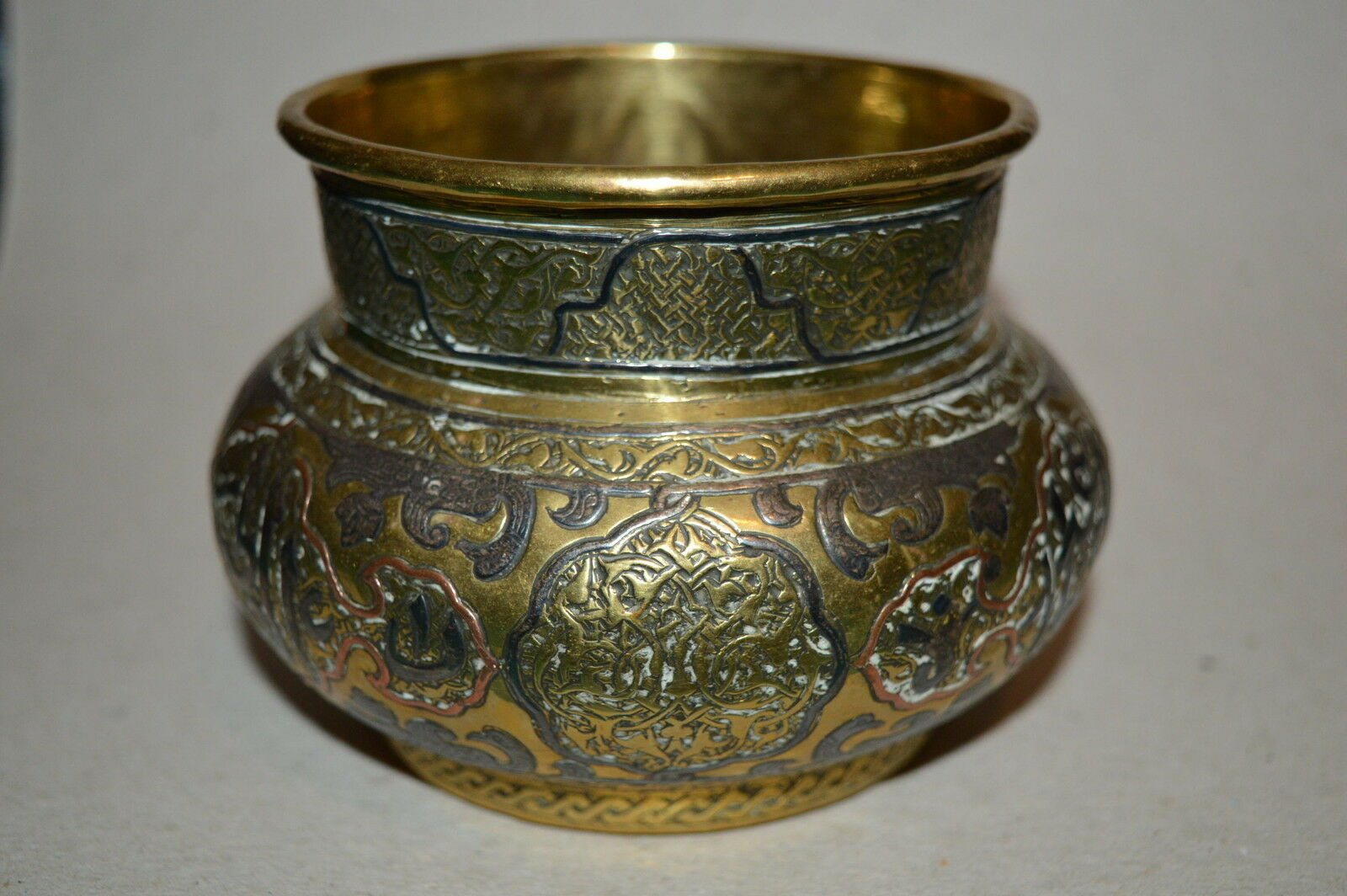 antique copper vase antique brass copper amp silver vase ottoman empire 1264