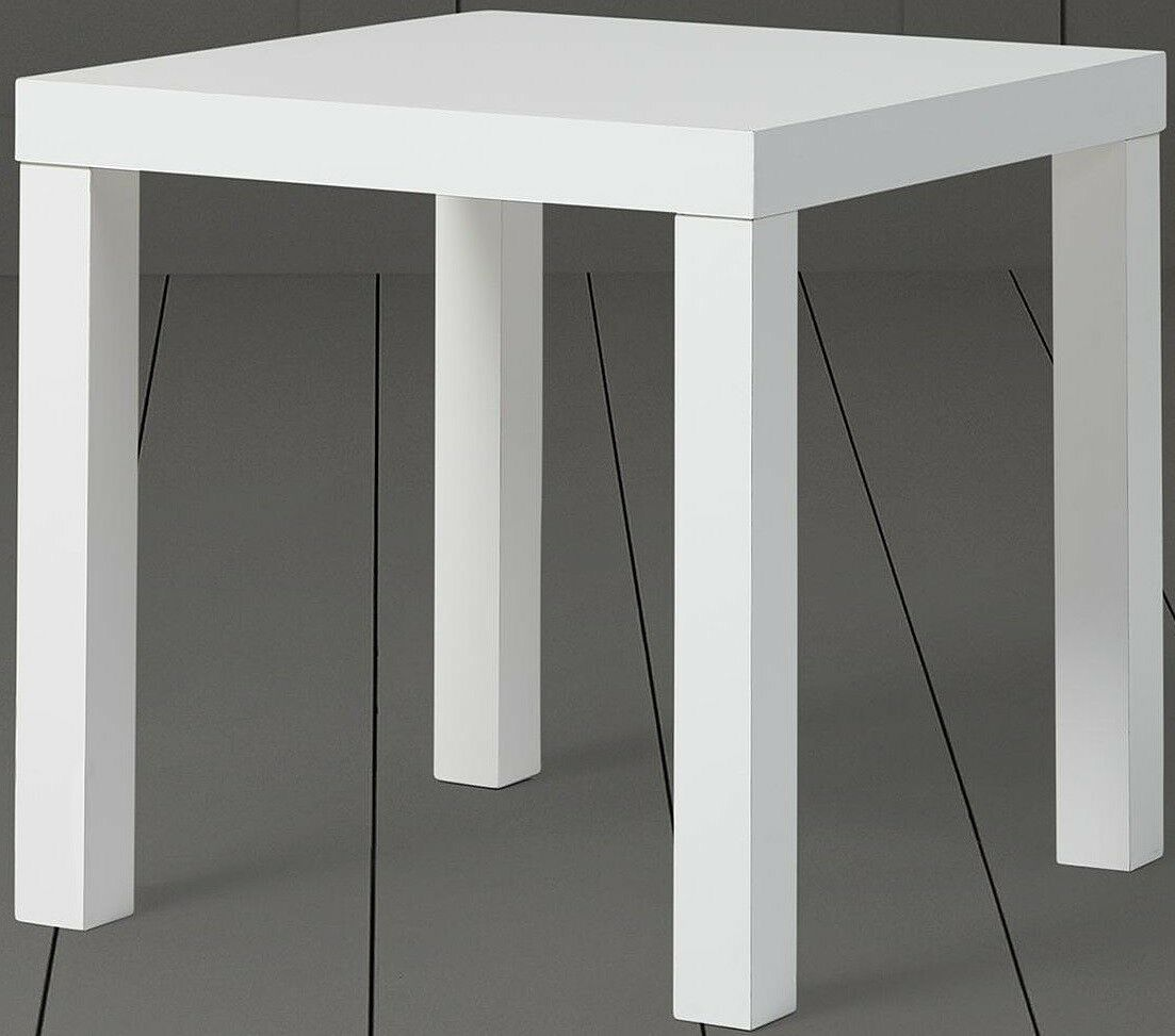 New Tesco Grove Side Table White 1 Of 1free