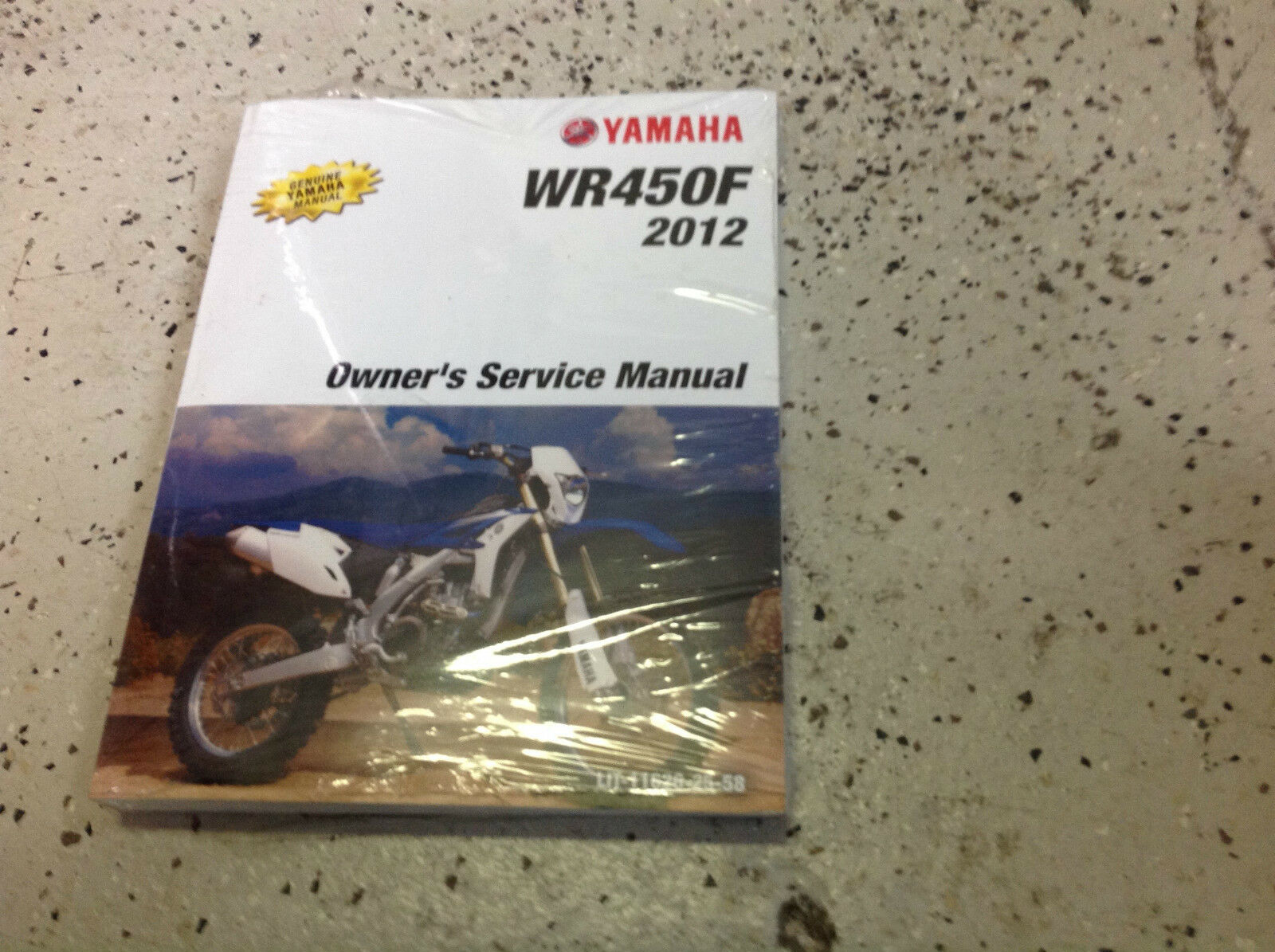 2012 Yamaha WR450F WR 450 F Repair Shop Workshop Service Manual NEW 1 of  2Only 1 available ...