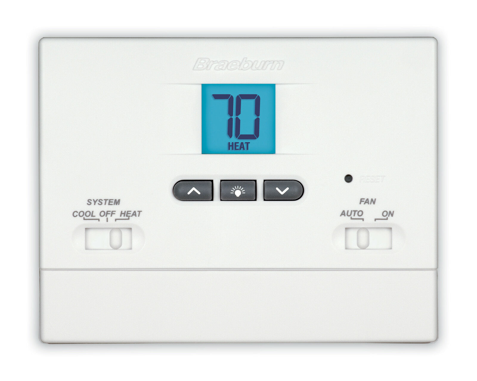 Braeburn 1000nc Digital 1 Heat Cool Non Programmable Tamper Proof Thermostat Of 1free Shipping See More