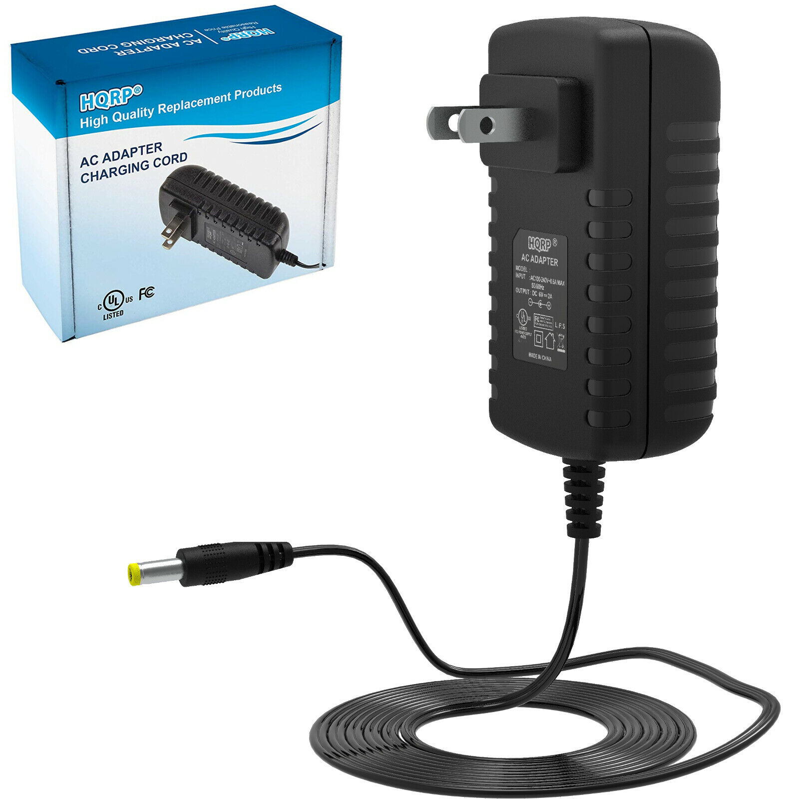 HQRP 6V AC Adapter for CVS 306409, 271245 271244 344532 Blood Pressure  Monitor