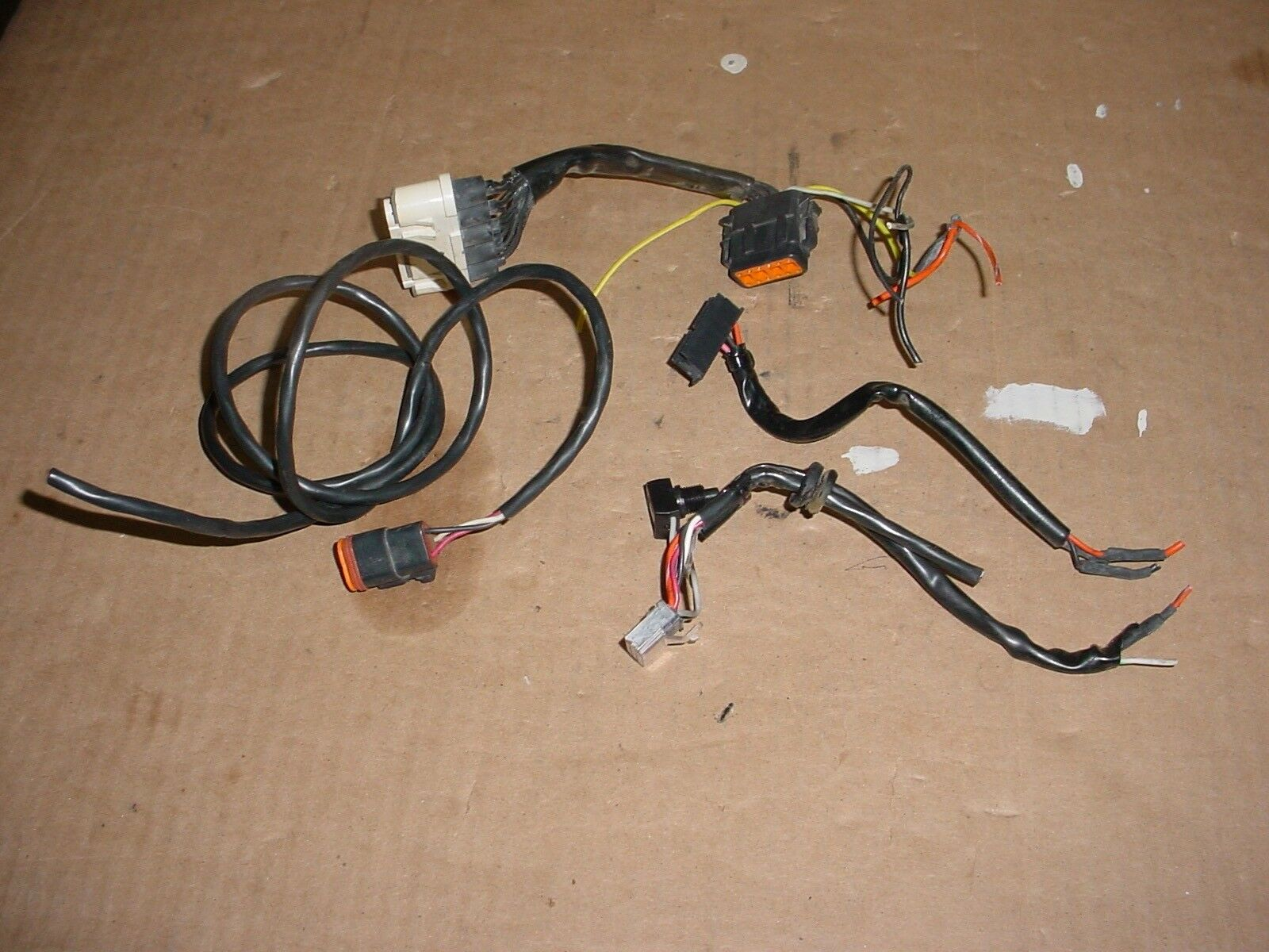 Harley Davidson Sportster Speedometer Tachometer Wiring Harness For 68814 99 1 Of 4 See More