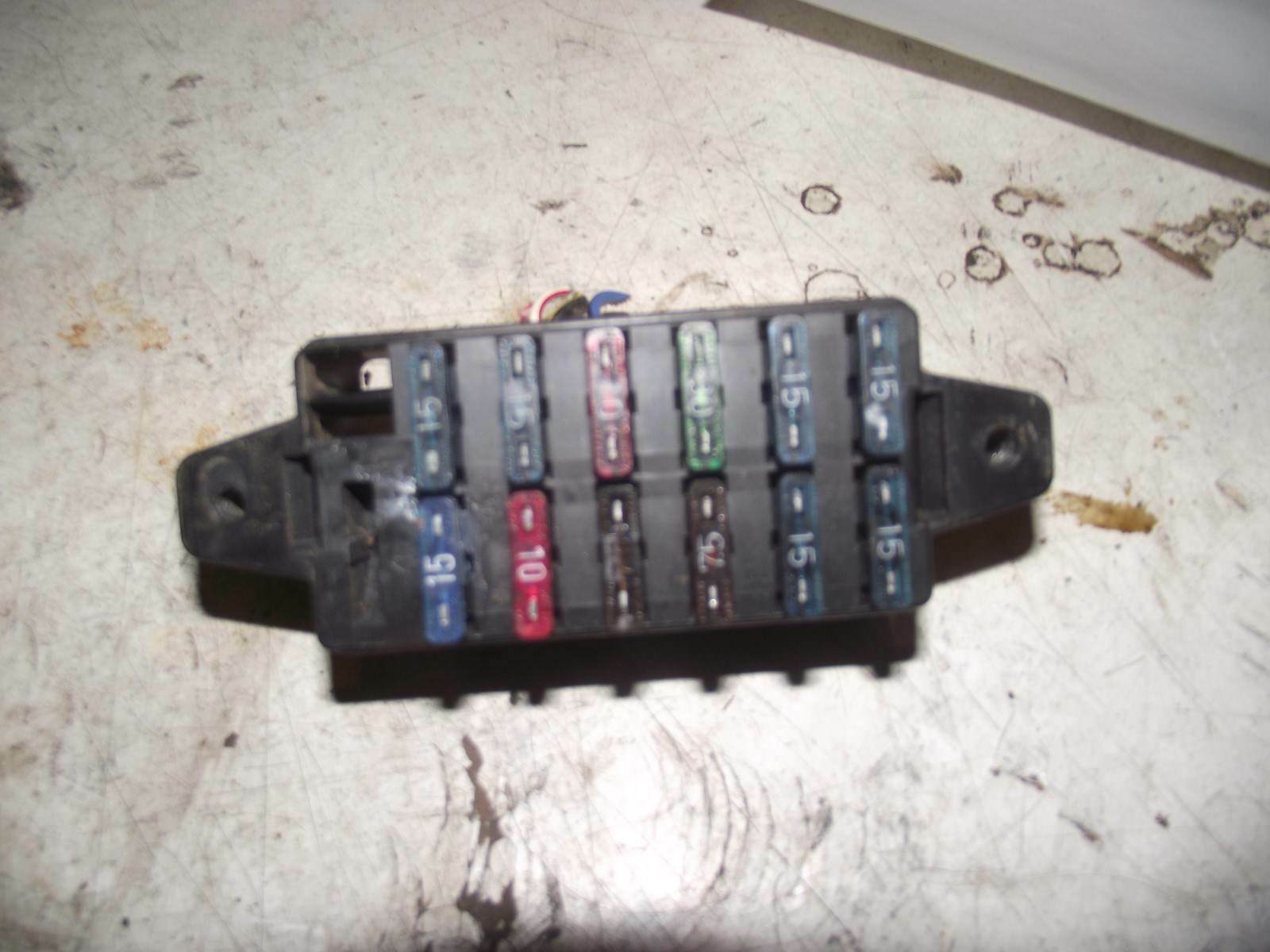 Daihatsu Fourtrak 2.8 Diesel 1994 Fuse Box Medium 1 of 1Only 1 available ...
