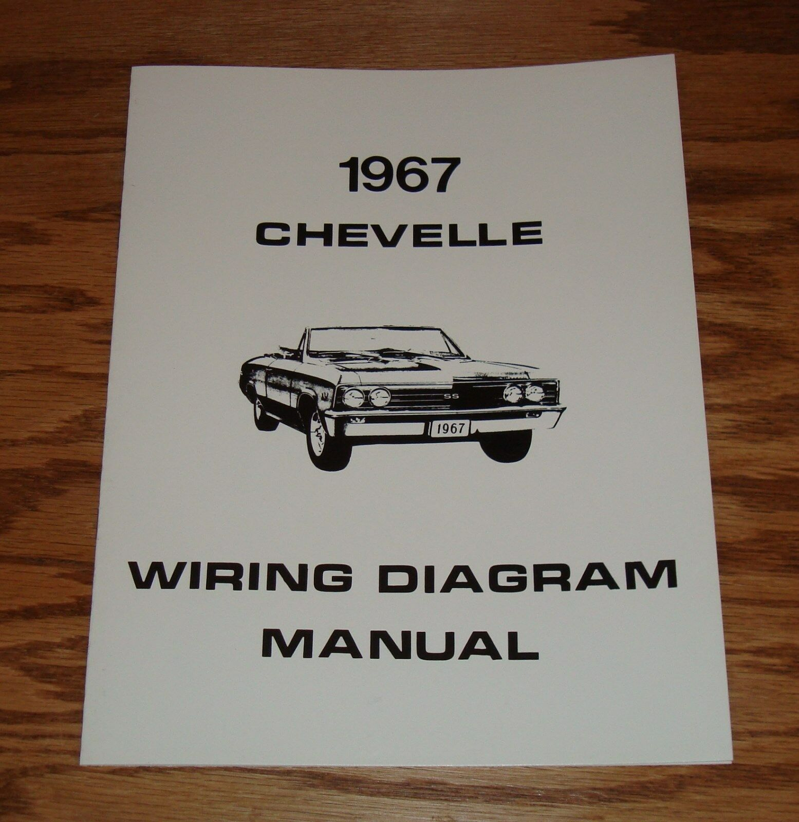 1967 Chevrolet Chevelle Wiring Diagram Manual 67 Chevy SS 1 of 1Only 1  available ...