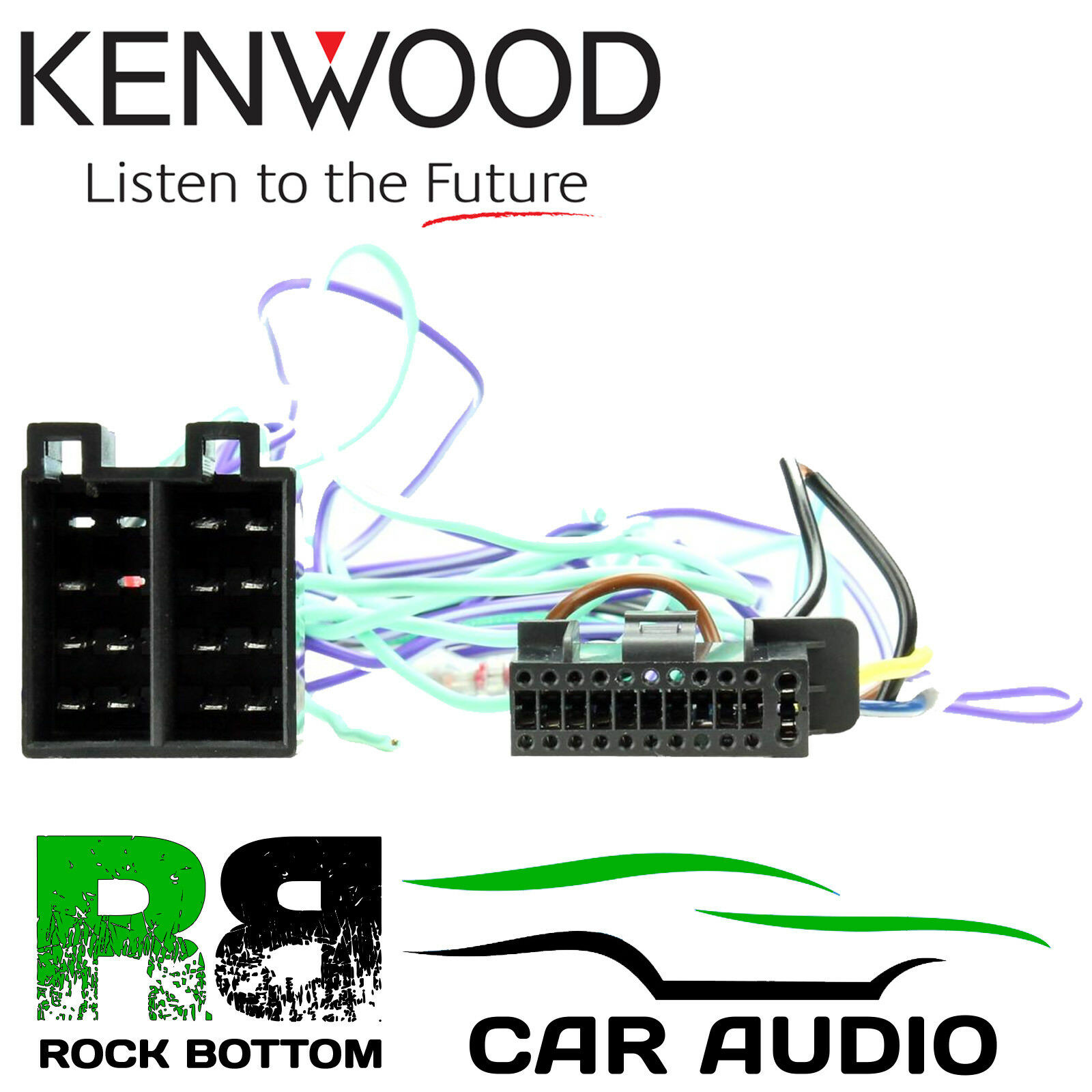 Car Audio Speaker Wiring Kenwood Dmx 7017dabs Radio Stereo Harness Loom Iso Lead Adaptor 1 Of 1free Shipping See More