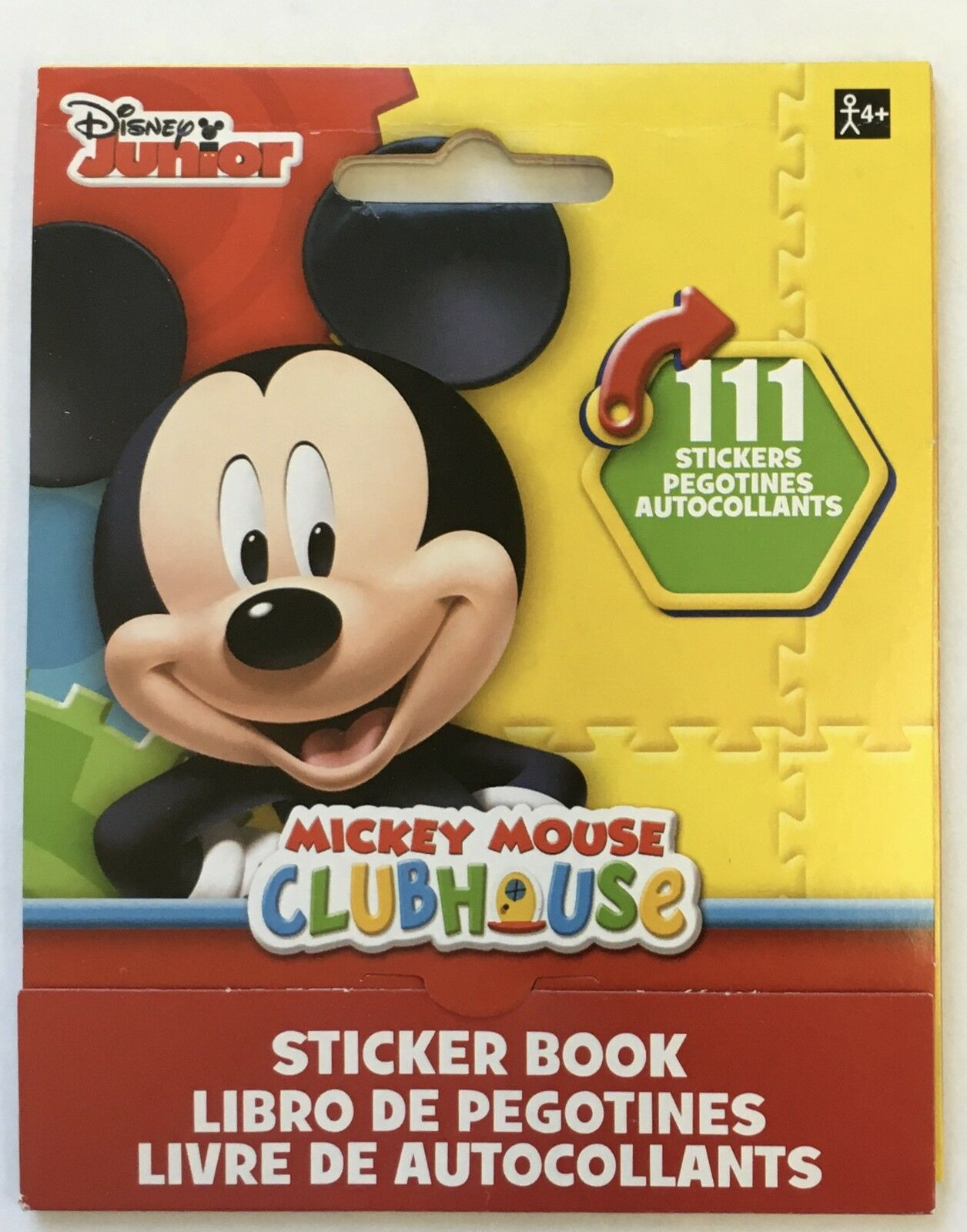 111 Disney Junior Mickey Mouse Clubhouse Stickers Party Favors