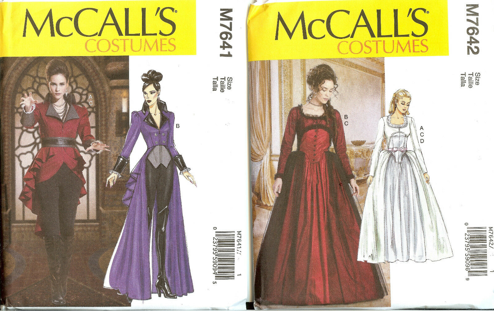 new mccalls sewing pattern fantasy renaissance halloween misses costume you pick 1 of 1 see more