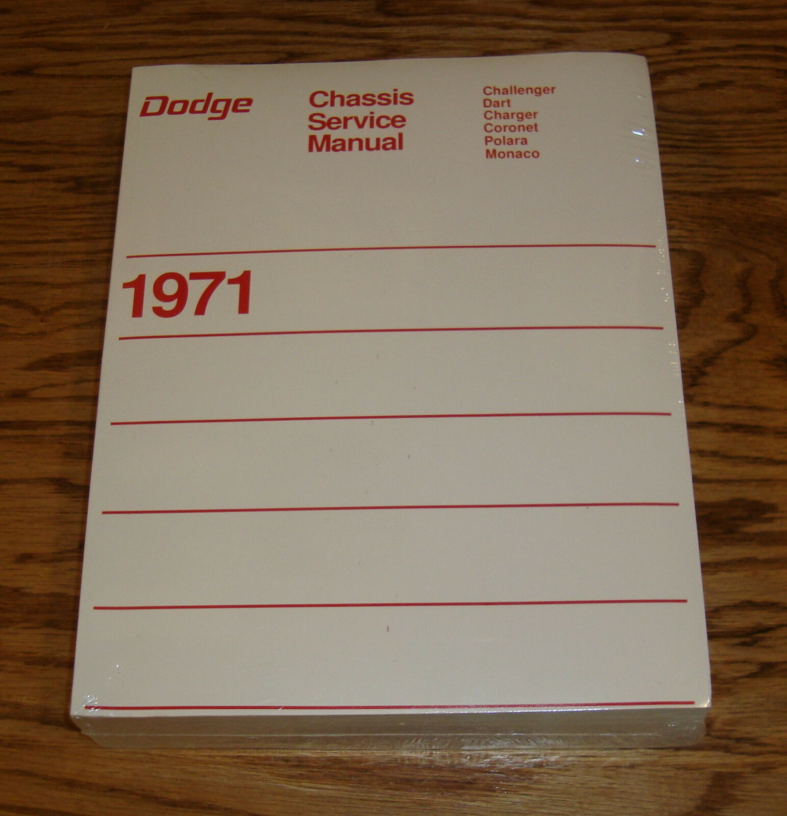 1971 dodge chassis service shop manual 71 challenger charger dart rh picclick com 1970 Challenger 1971 Charger