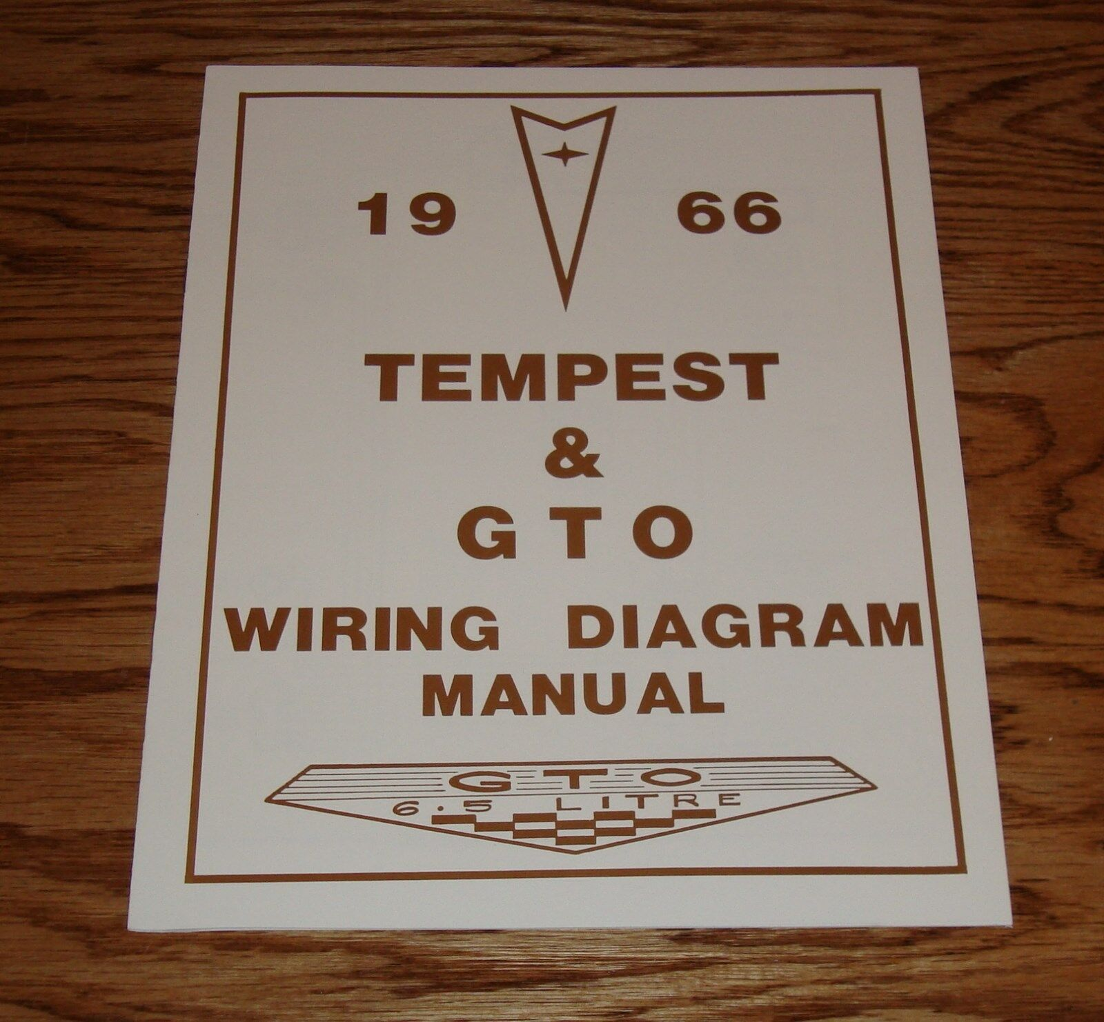 1966 Le Mans Wiring Diagram Library Schematic For 1970 Gto Pontiac Tempest Manual 66 9 00 Picclick Henry J