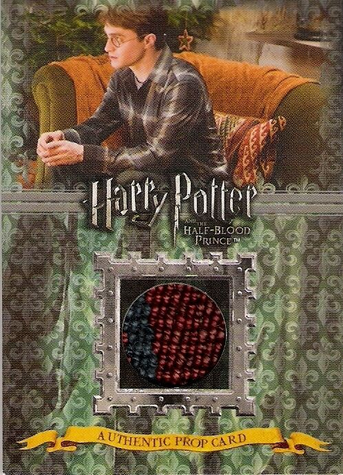 HARRY POTTER HALF BLOOD PRINCE CUSHIONS PROP CARD P3 THICK VARIANT 426/480