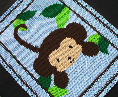 Baby Zoo Afghan Crochet Pattern : Pics Photos - Afghan Crochet Monkey Pattern