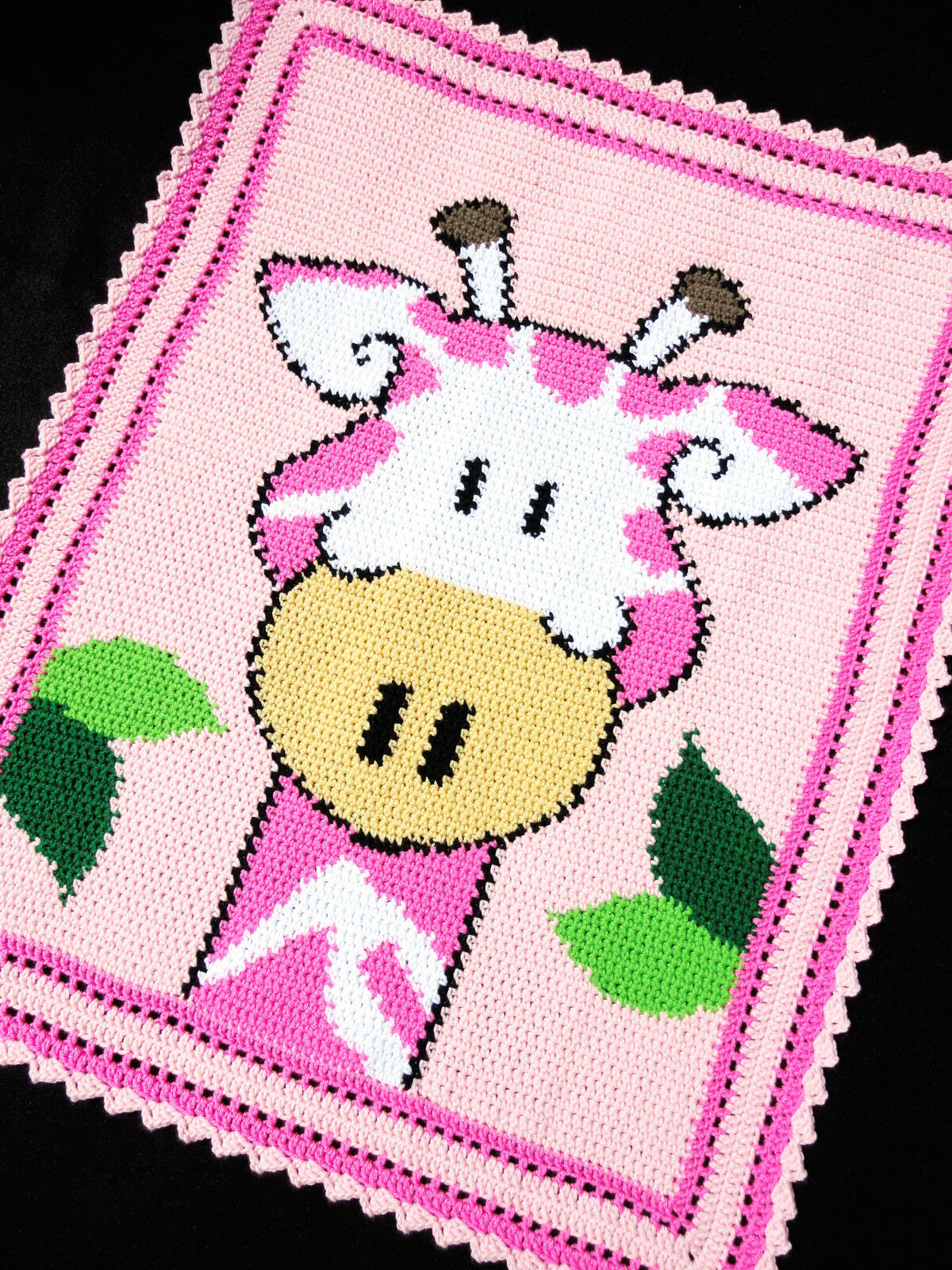 Baby Zoo Afghan Crochet Pattern : Crochet Patterns - GIRAFFE Zoo/Safari Color Graph BABY ...