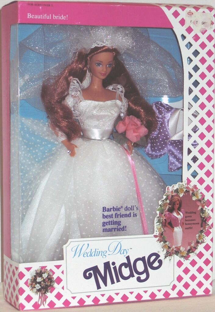 Wedding Day Midge Doll (Barbie's Best Friend is Getting Married)(New)