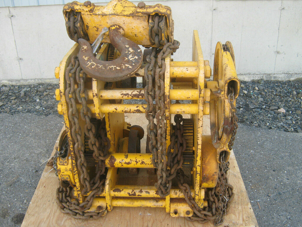 Wright Acco 16 Ton Chain Hoist Model 06 179999 Picclick Wiring Diagram 1 Of 4only Available
