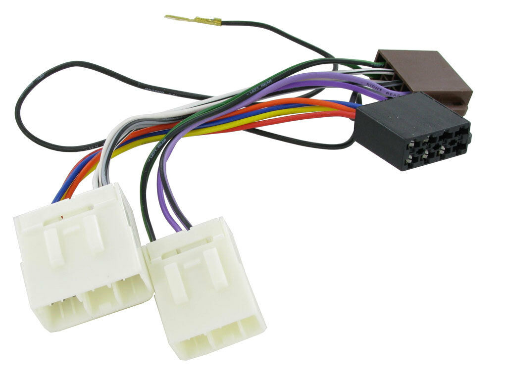 Mazda 323 1981 2001 Car Cd Stereo Iso Wiring Harness Adaptor Lead M12 1 Sur Voir Plus