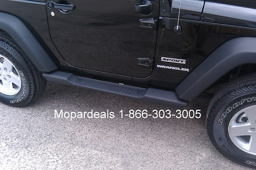 Jeep Wrangler JK 2 Door Mopar Side Steps Running Boards Factory OEM 1 Of  5FREE Shipping ...