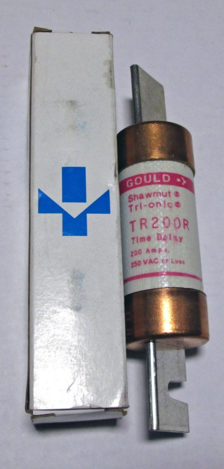 Gould Shawmut Tri Onic 200 Amp Fuse 240 Volt Tr200r Nib New In Box 1 Of 1only Available