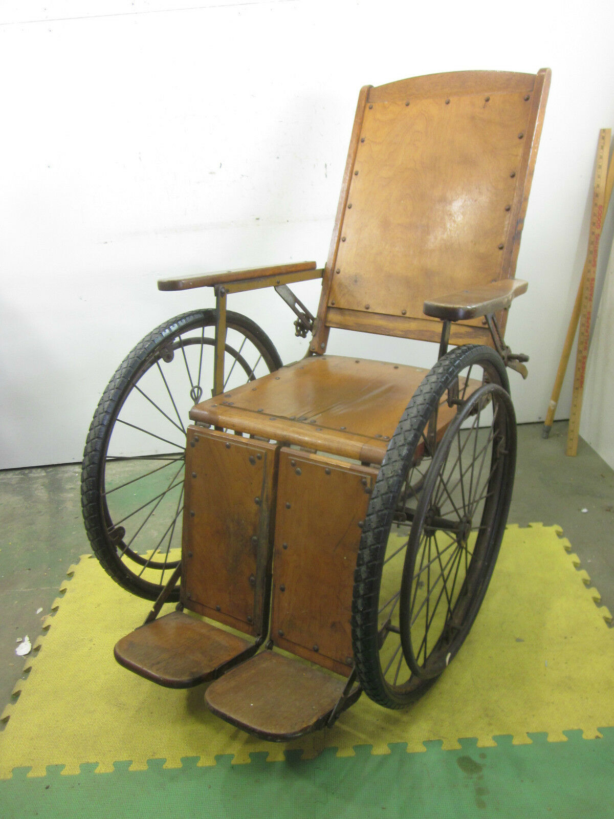 Vintage gendron wheel co wooden chair