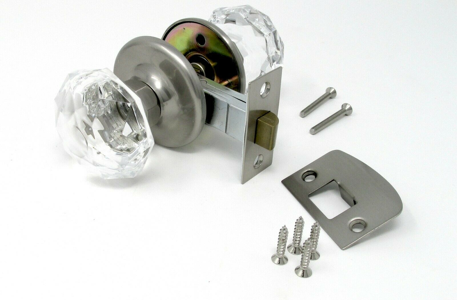 Re-engineered $200.00 Old Town Crystal Door Knob set to a Very Affordable Price