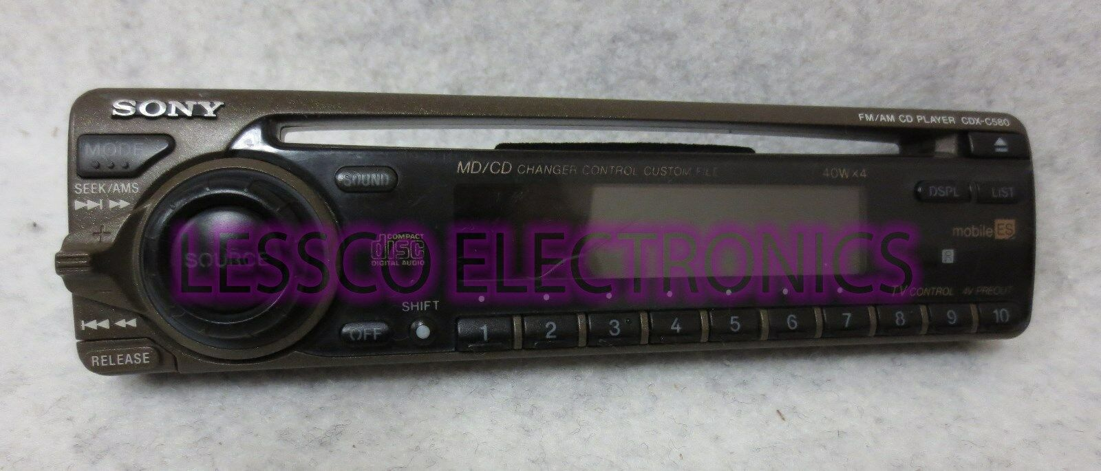 Sony Cdx M620 M800 Wiring Diagram Fm Am Compact Disc Player Car Pictures 1 Of 1only 2 Available Cd Logo