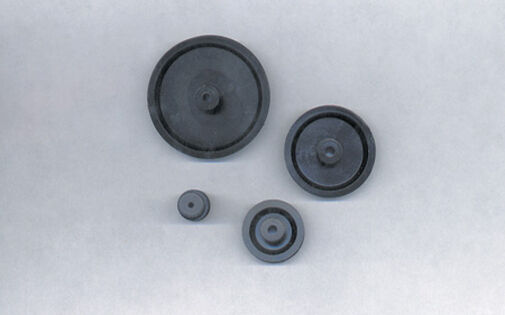 Expo A26510 4 Piece Black Plastic Pulley Set with 2 & 3mm Hole Pulleys -1st Post
