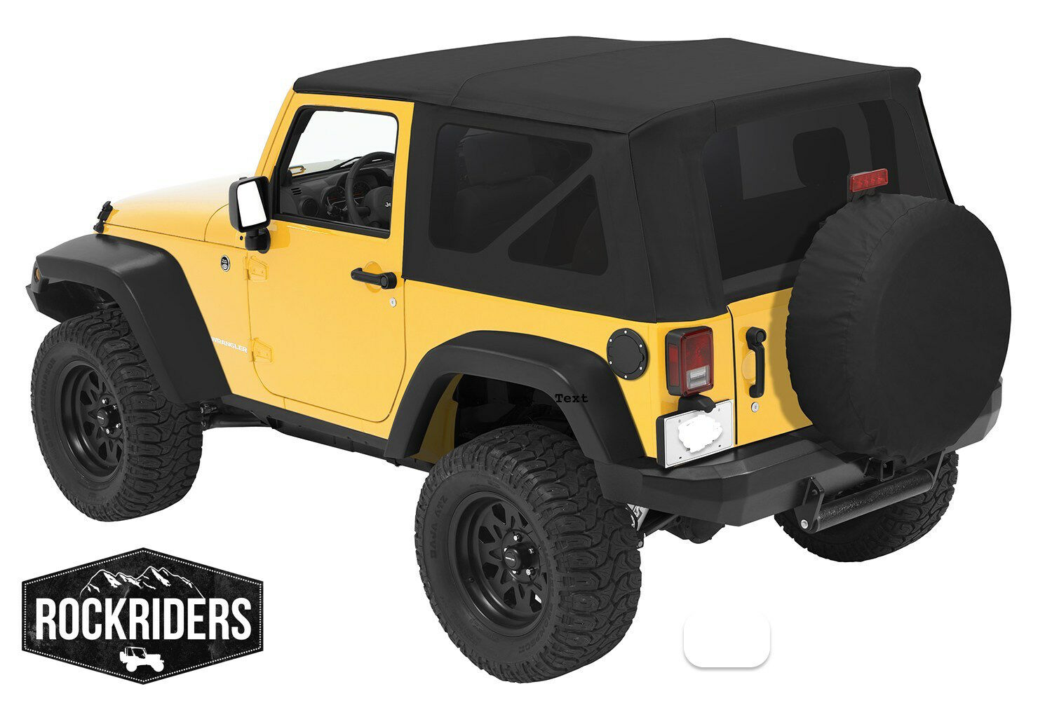 2010 2017 jeep wrangler 2 door replacement soft top with tinted rear windows picclick au. Black Bedroom Furniture Sets. Home Design Ideas