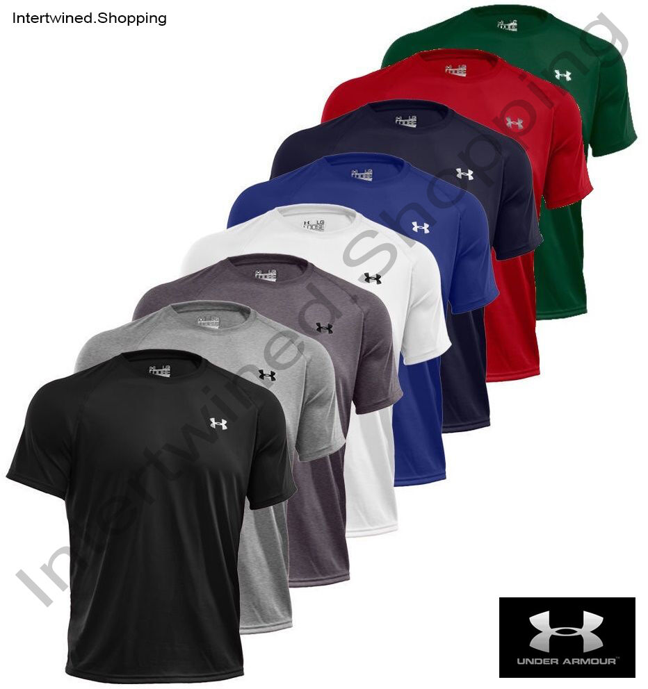 Under Armour 1228539 UA Men's Tech Short Sleeve T-Shirt Tee ALL COLORS SIZES